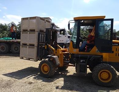 Transporte de acopio en campo a Planta de Proceso