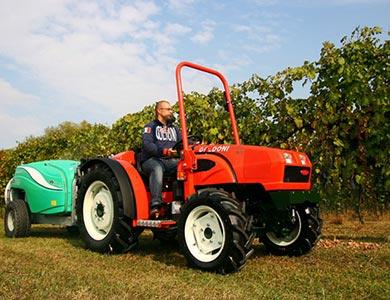 Alquiler de tractores agrícolas viñateros